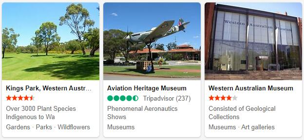 Perth Attractions 2