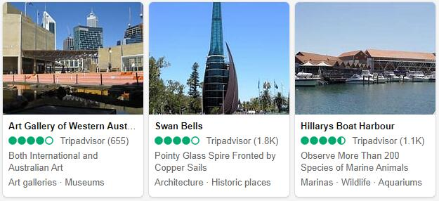 Perth Attractions and Tourist