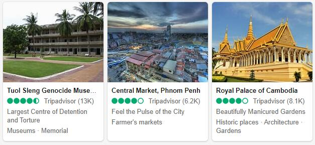 Phnom Penh Attractions and Tourist