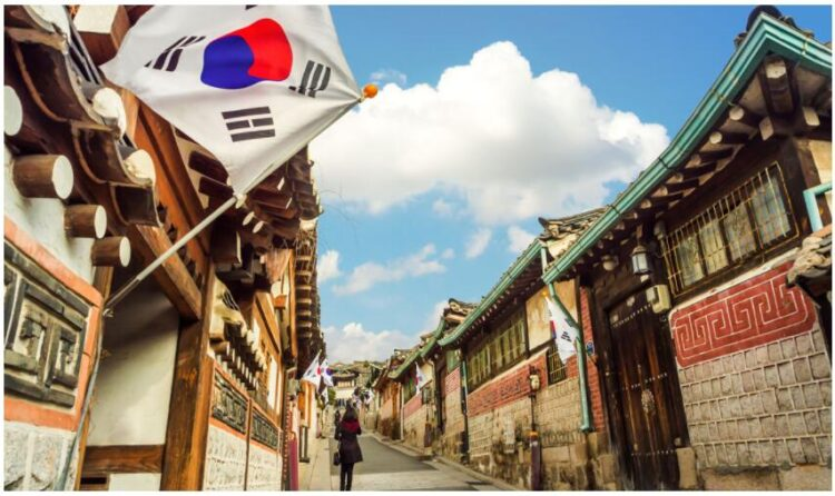 Before the trip to South Korea