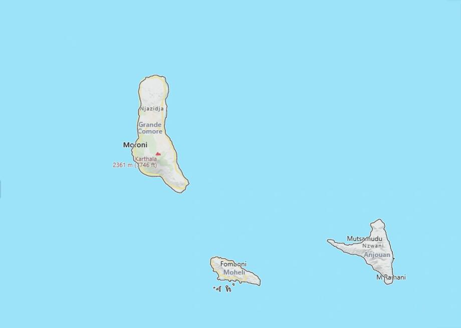 Comoros 2006