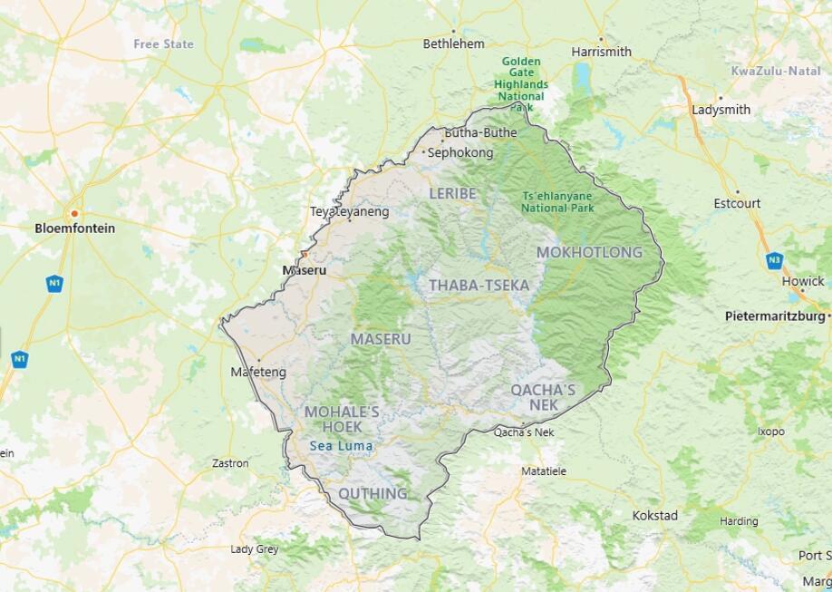 Lesotho 2006