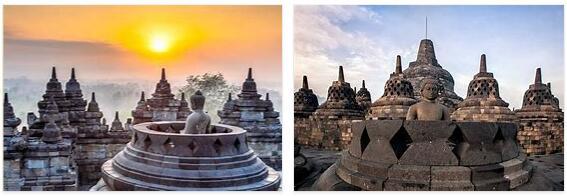 Buddhist temples of Borobudur (World Heritage)